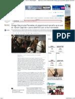 Diego García de Paredes, El Gigante Extremeño Que Usó El «Gran Capitán» Para Atemorizar a Los Franceses