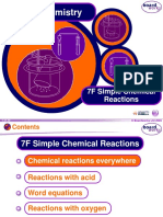 Simple Chemical Reactions PPT