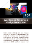 Wordpress 2016