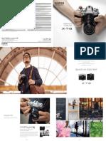 Brochure - Fujifilm X-t10 Kit With Xc16-50mm f3.5-5.6 Ois (Blacksilver)