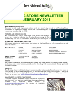 newsletter feb 2016
