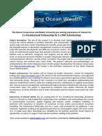 Mapping Ocean Wealth Australia EOI