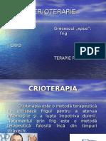 CRIOTERAPIE