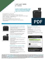 Brochure - HP LaserJet Pro 400 M401dw - M401n