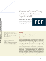 Generic Cognitive Model Article