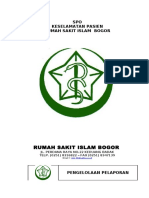 Spo Rumah Sakit Islam Bogor