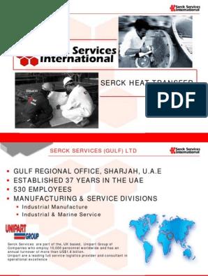 Serck Services Catalogue   Heat Exchanger   Pipe (Fluid