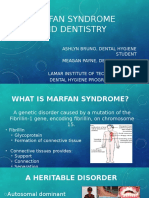 marfan syndrome and dentistry powerpoint revised