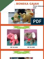 85729878262, Jual Boneka Gajah Besar, Boneka Gajah, Boneka Gajah Pink