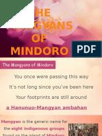 Mangyans of Mindoro