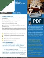Document Management, Security & Retention 23 - 24 May 2016 / 05 - 06 Sept 2016 Kuala Lumpur, Malaysia