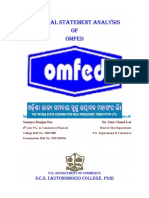 Financial Statement Analysis Omfed