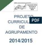 Projeto Curricular 14 15 Final