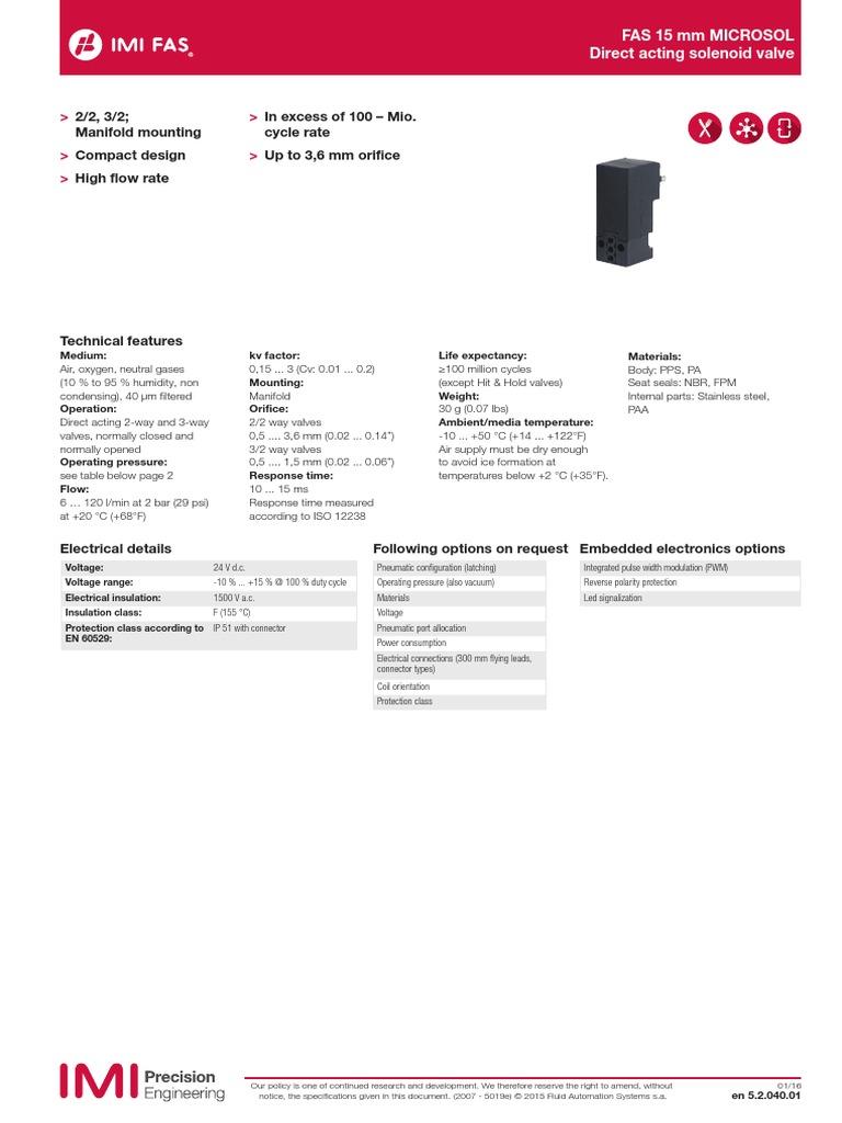 Microsole Solenoid Valves Valve Voltage 3 Way Wiring Diagram
