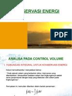(1)Konservasi Energi