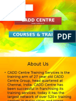 Certified Cadd Training Centre