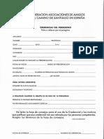 Ficha Credencial