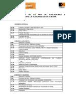 Programa III Encuentro EDUKALBOAN 2016