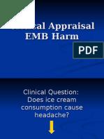DK Critical Appraisal EBM Harm