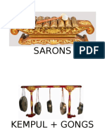 Indonesian Instruments