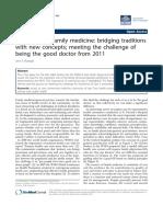 New Paradigm in Family Medicine