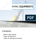 Pile Driving Equipments