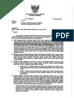 B-288 Himbauan Terkait Penerimaan Gratifikasi Oleh Caleg Incumbent