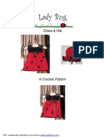 Lady Bug Dress Pattern crochet