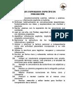 APRENDIZAJES ESPERADOS Ecuarto año.docx