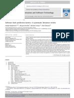 Radjenovic - Software Fault Prediction Metrics - 2013