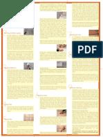 Tile Laying Leaflet