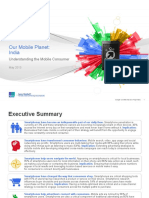 Understanding the Indian Mobile Consumer - A Google Report