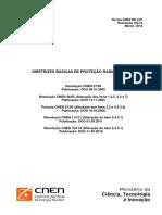 2014 - Norma CNEN NN 3.01 - Diretrizes Básicas de Proteção Radiológica