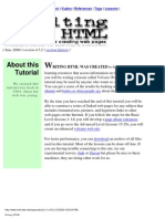 lessons for html