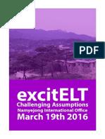excitELT Conference Booklet