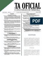 Gaceta Oficial Número 40.867 - Notilogía