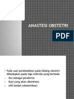 Anastesi Obstetri