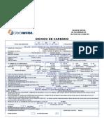 MSDS Dioxido de Carbono Abr 09