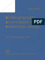 STP 656 - Intergranual Corrosion of Stainless Alloys