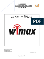 Norme 802.16 Wimax