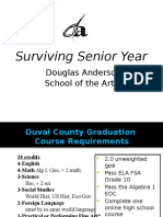 Junior Night Surviving Senior Year