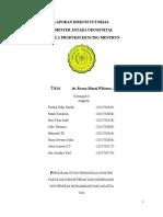 Laporan PBL Modul 2 Produksi Kencing Menurun - SP Urogenital - Kelompok 8