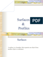 Surfaces and Profiles