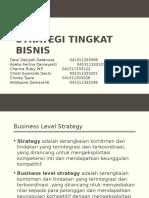 Bab 4 Strategi Tingkat Bisnis