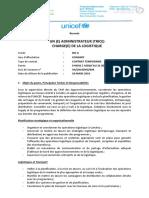 Administrateur Charge de La Logistique NOA_18 Mars