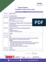 Programa Seminario Nueva Alameda Providencia