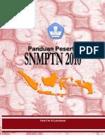 Buku Panduan Peserta SNMPTN 2010