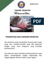 PPT Ekonomi Moneter - M  Ilham.pdf