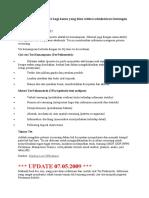 Tentang Tes Psikometri Bagi Kamu Yang Lolos Seleksi Administrasi Lowongan Pertamina 2009