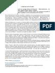 Comunicato Stampa 15-03-16 Inaugurazione Borgo del Benessere
